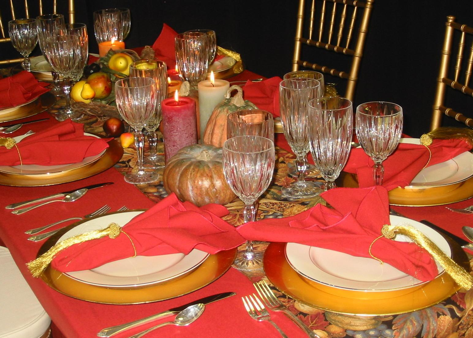 Thanksgiving Table Decorating Ideas Easy Simple Photograp