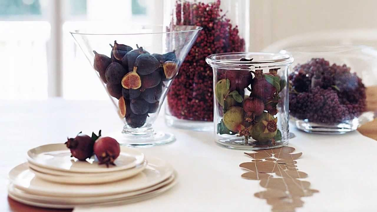 Thanksgiving Table Decorating Ideas Real Simple