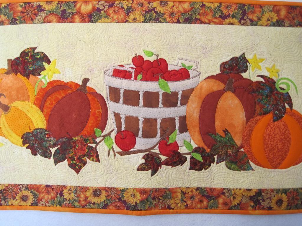 Thanksgiving Table Mbyrne Quilting Pattern
