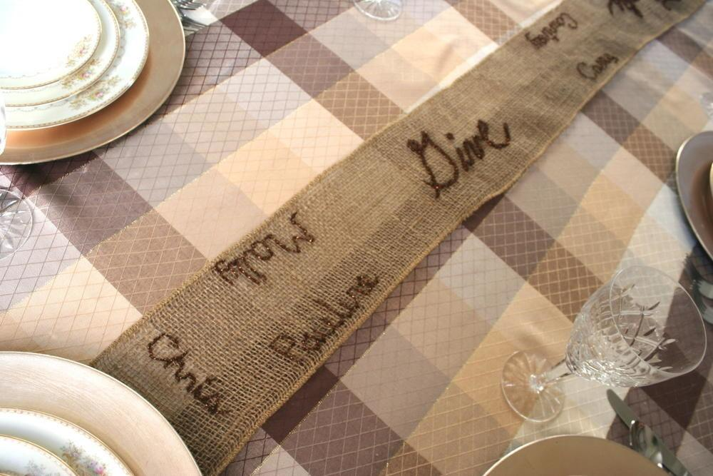 Thanksgiving Table Runner Allfreesewing