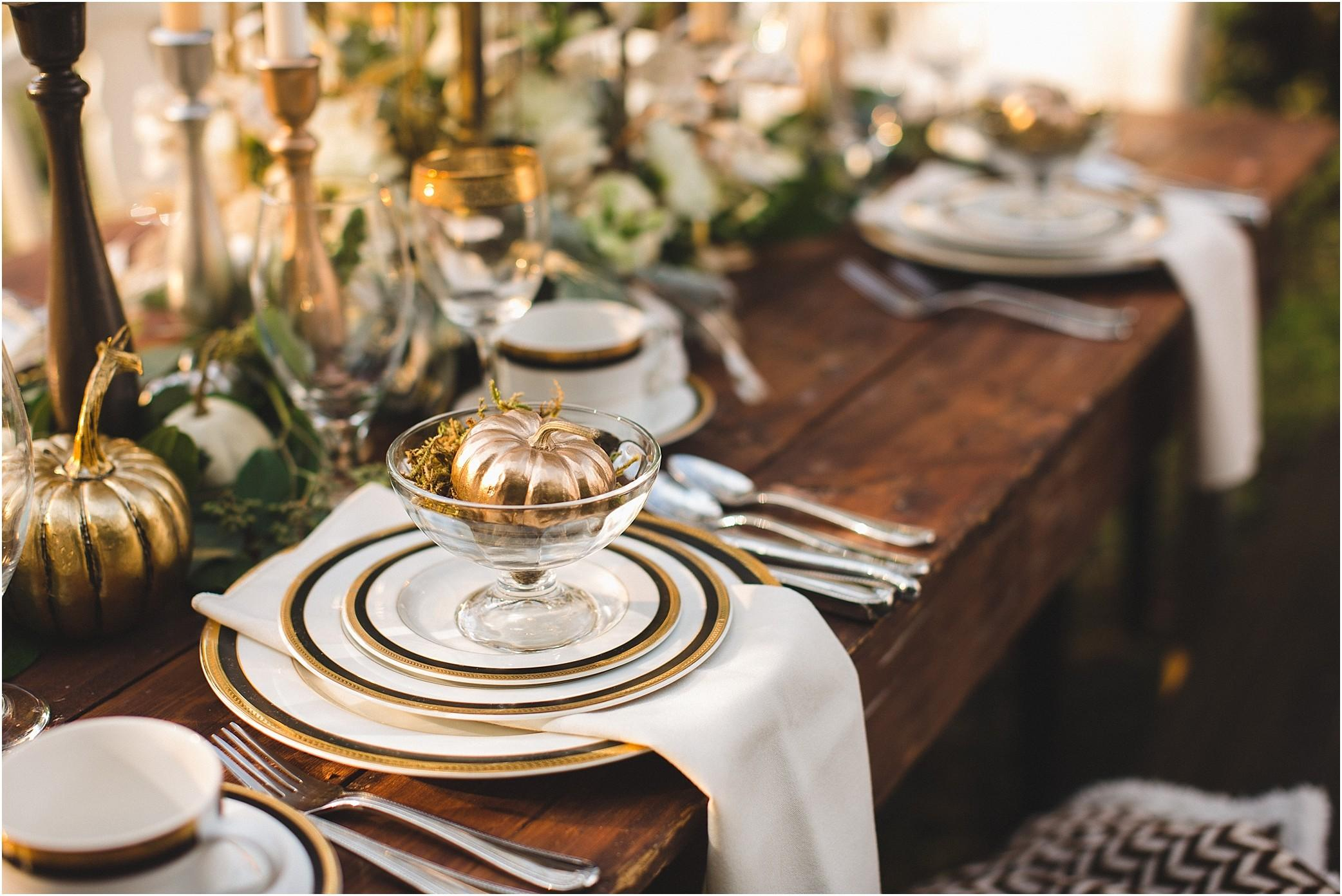 Thanksgiving Table Setting Ideas Decorations