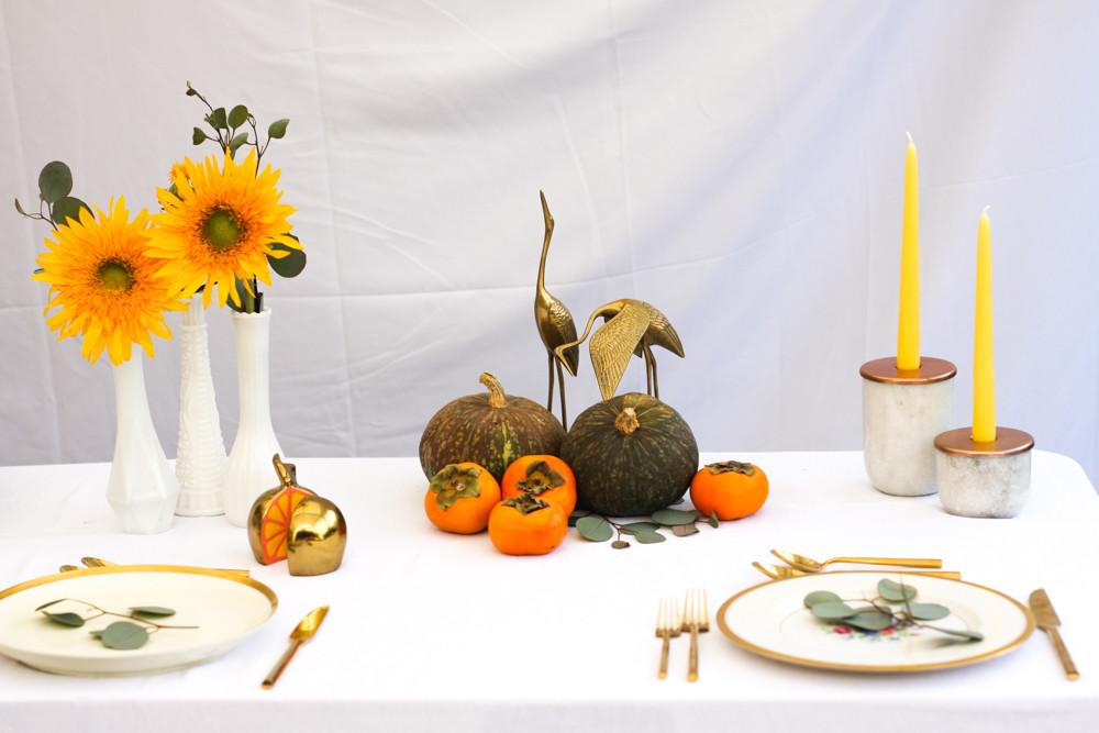 Thanksgiving Table Setting Inspiration Jest Cafe