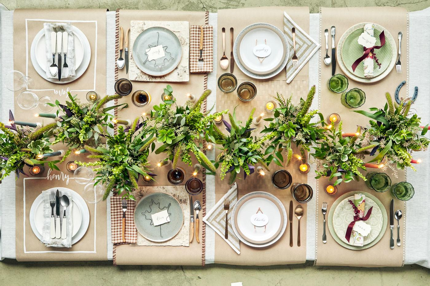 Thanksgiving Table Settings Tablescapes
