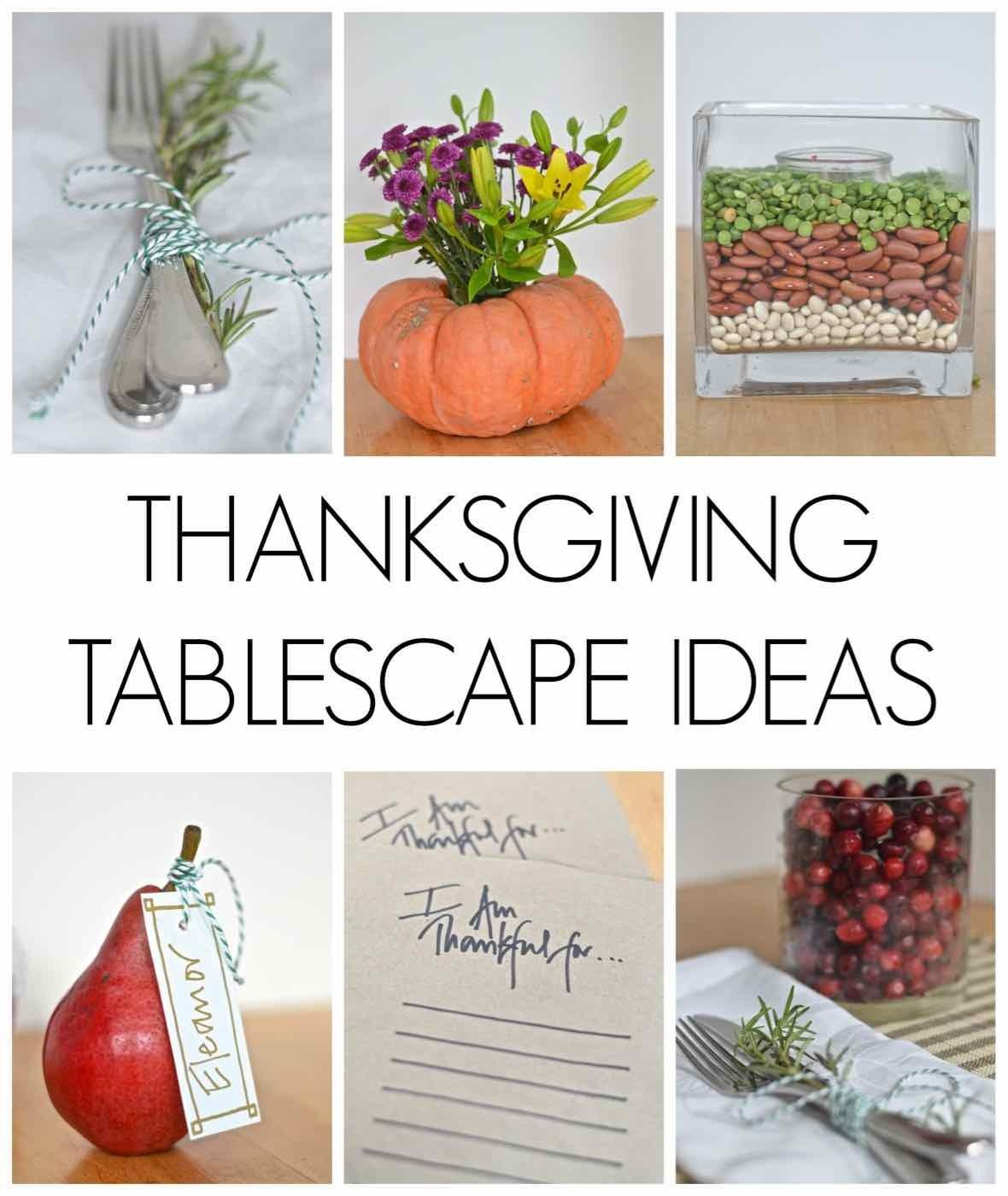 Thanksgiving Tablescape Ideas Charlotte House