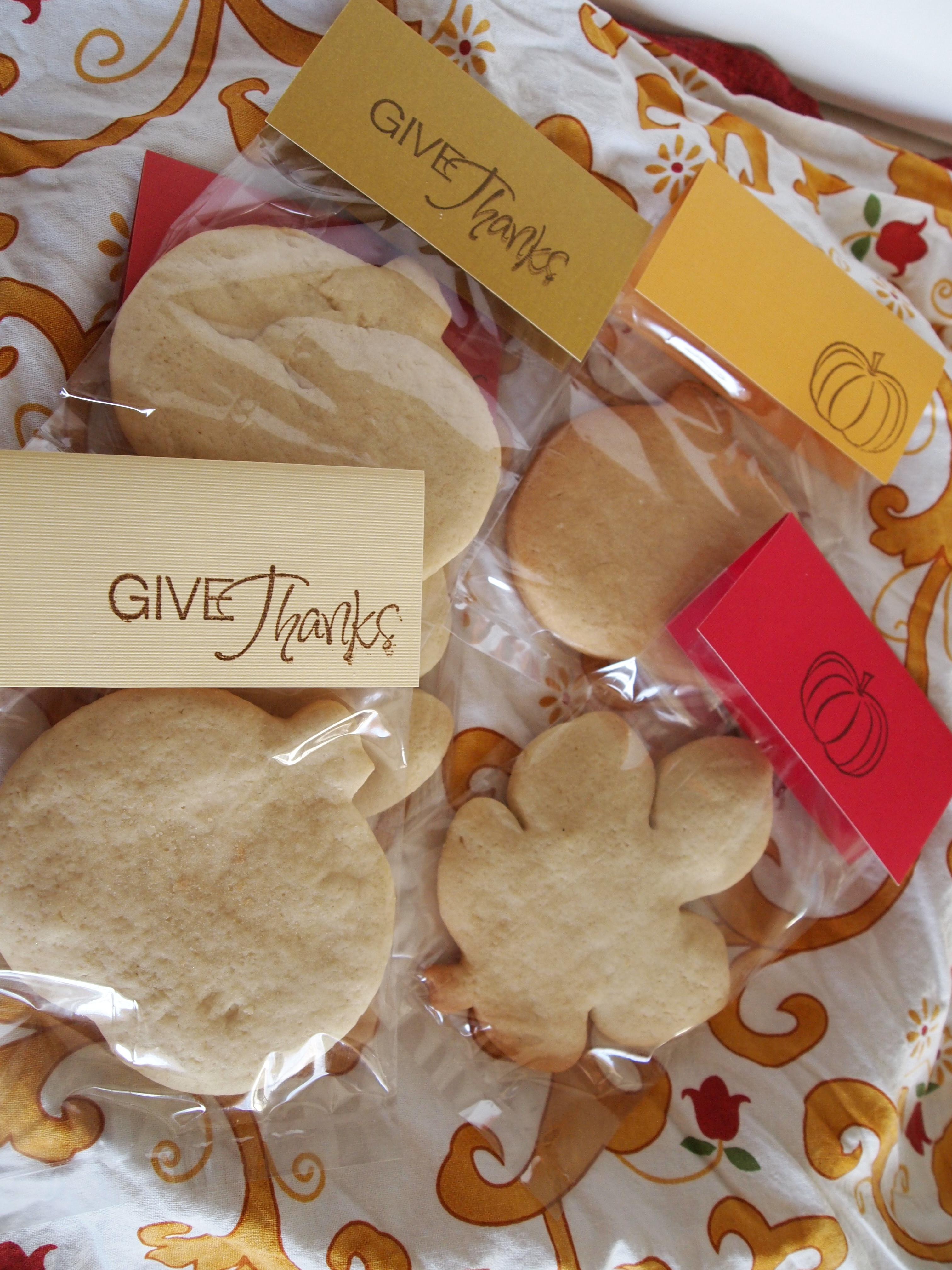 Thanksgiving Treat Bags 100 Give