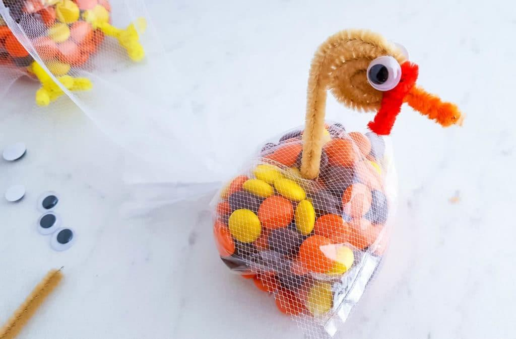 Thanksgiving Turkey Treat Bags Candy