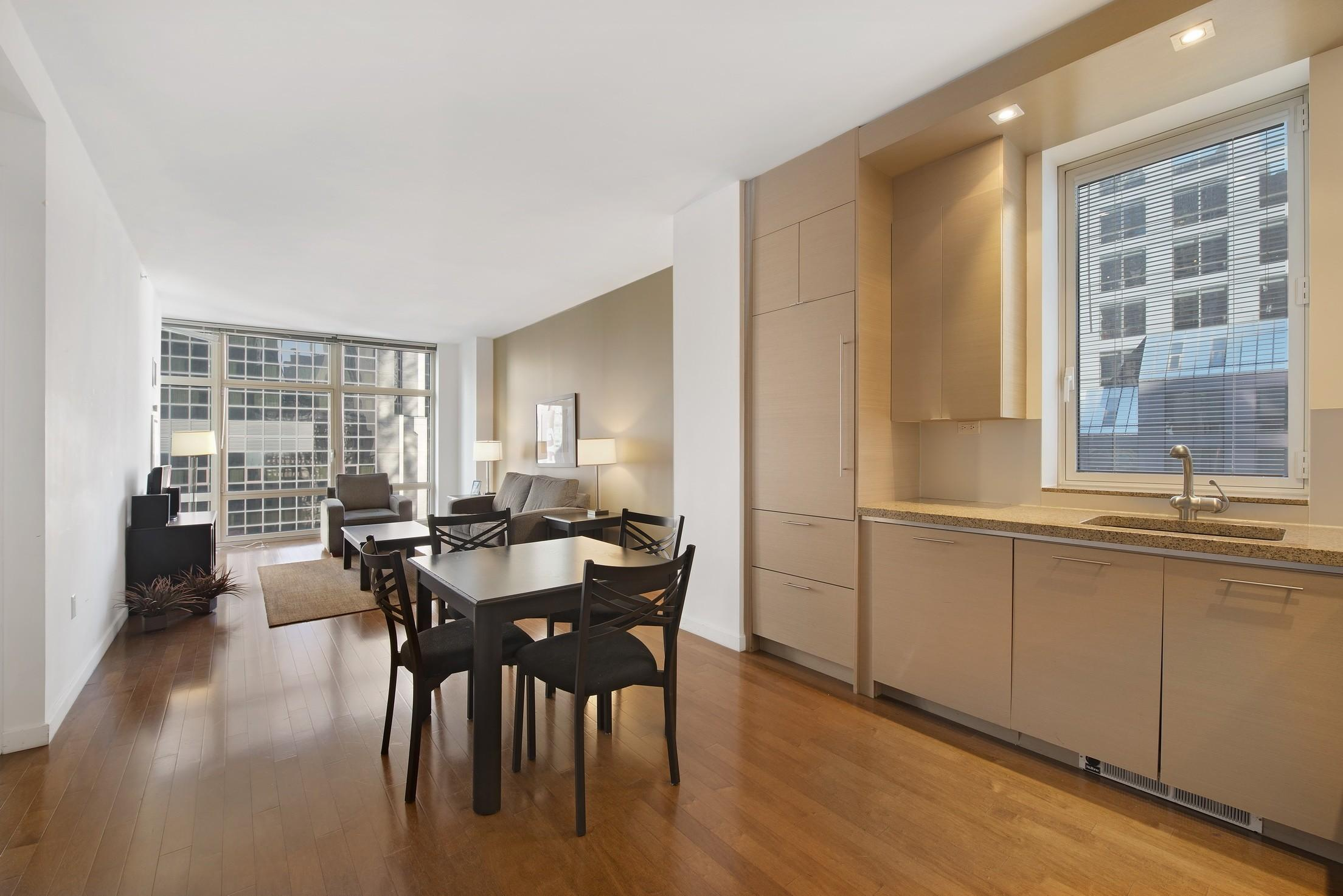 Theater District One Bedroom Windowed Home Office