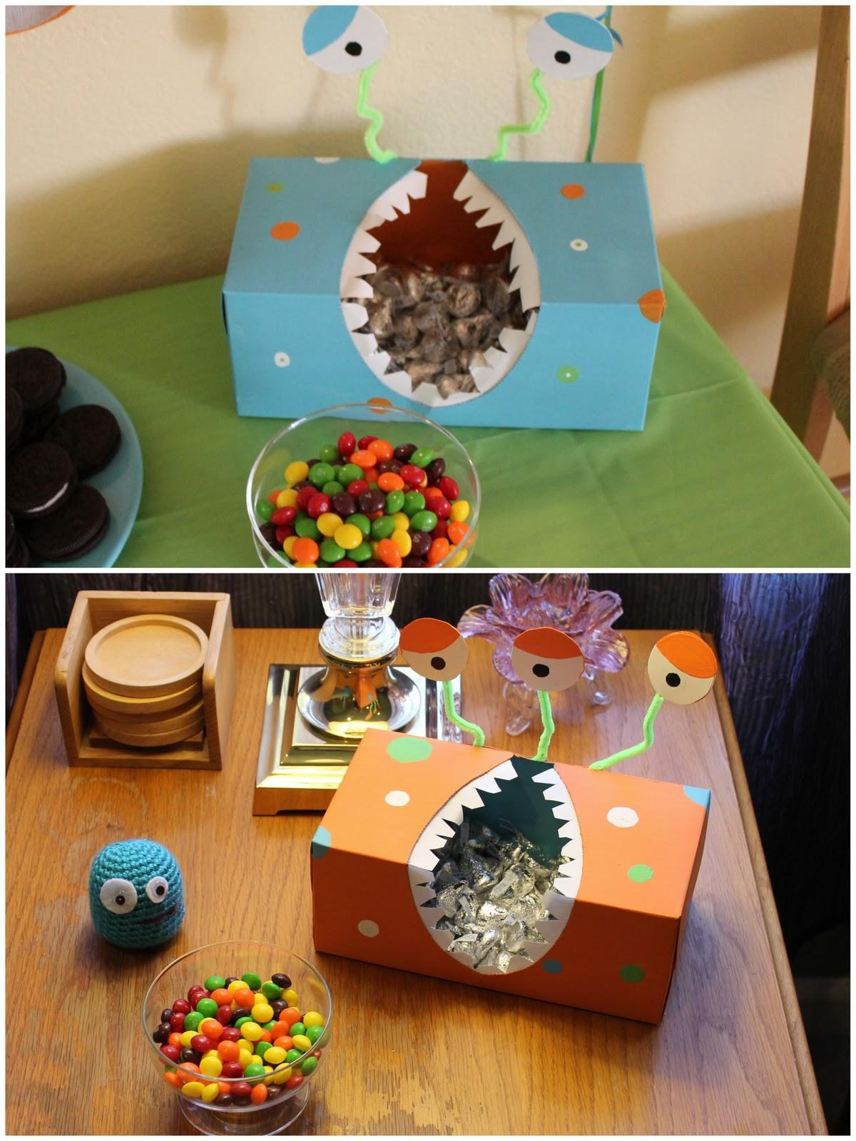 Then Become Mom Diy Monster Birthday Party