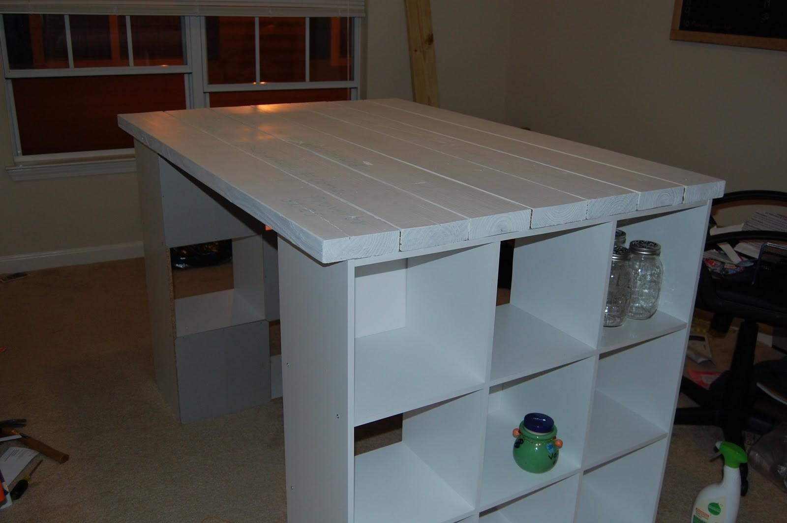 Then Mrs Diy Craft Table