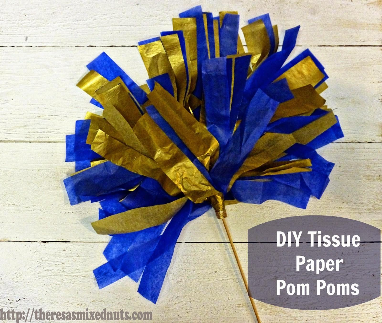 Theresa Mixed Nuts Diy Tissue Paper Pom Poms