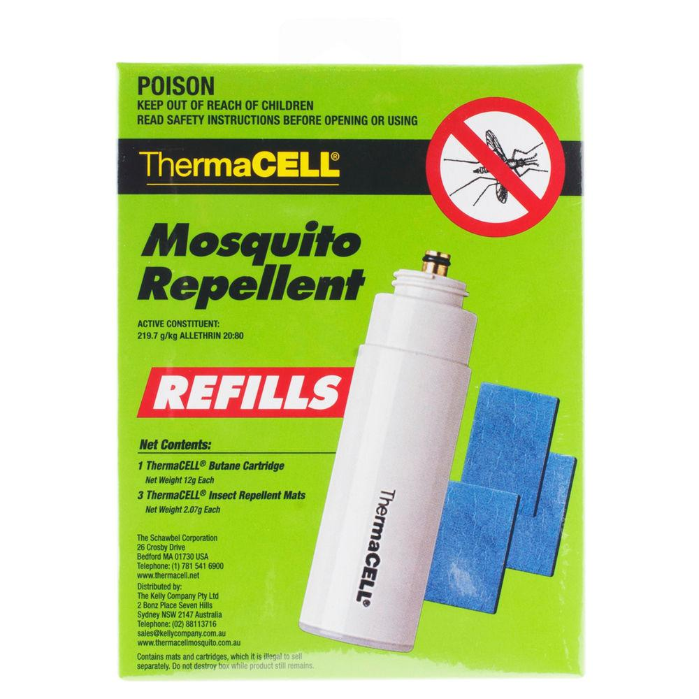 Thermacell Mosquito Repellent Lantern Refills Butane