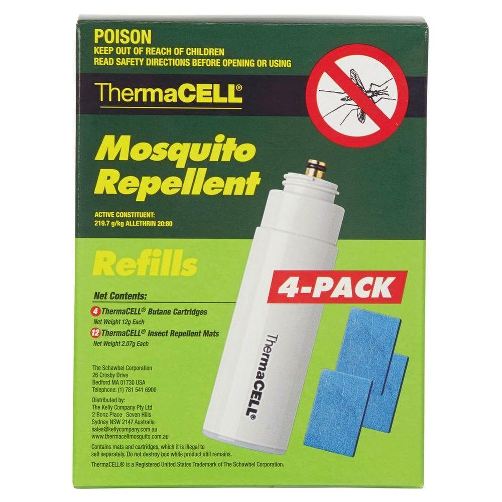 Thermacell Mosquito Repellent Refills Pack Butane