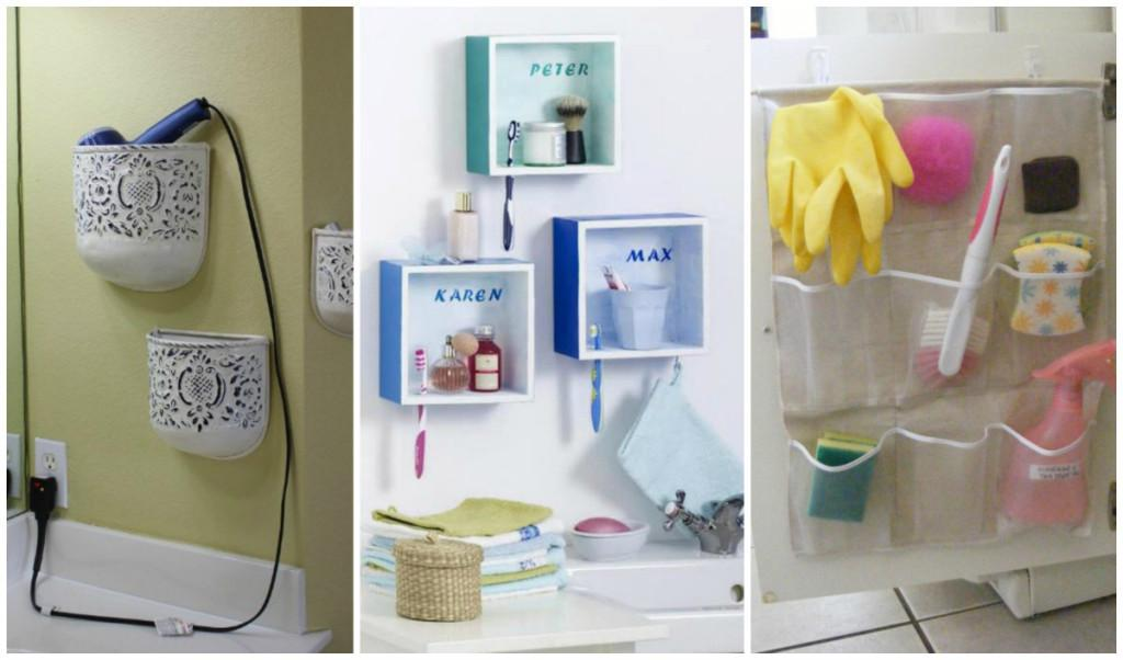 These Bathroom Storage Organization Ideas