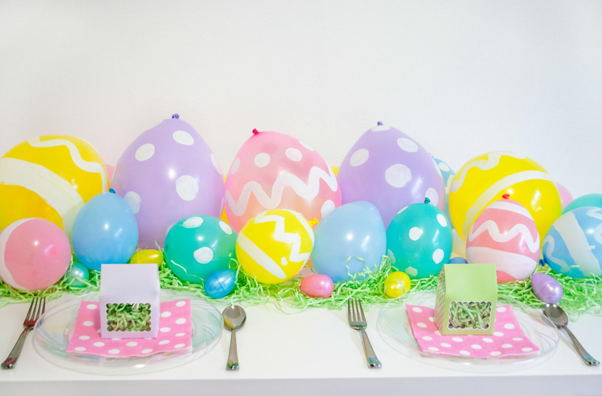 These Diy Easter Egg Balloons Delight Your Little