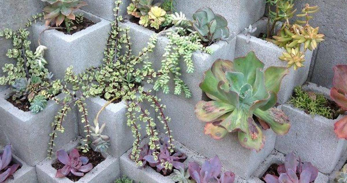 These Diy Projects Using Cinder Blocks Brilliant