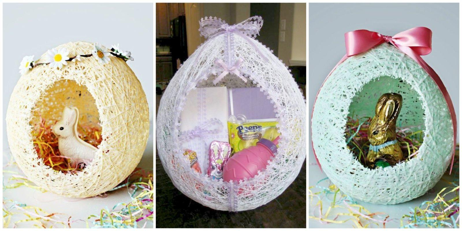 These Diy Sugar String Easter Baskets Most