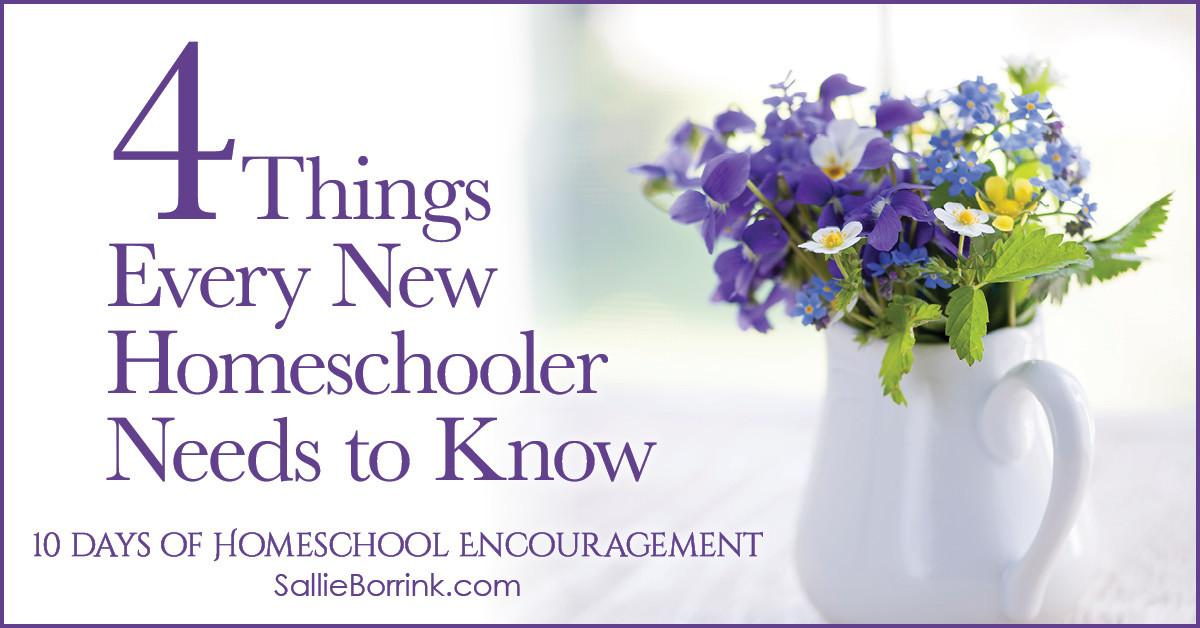 Things Every New Homeschooler Needs Know