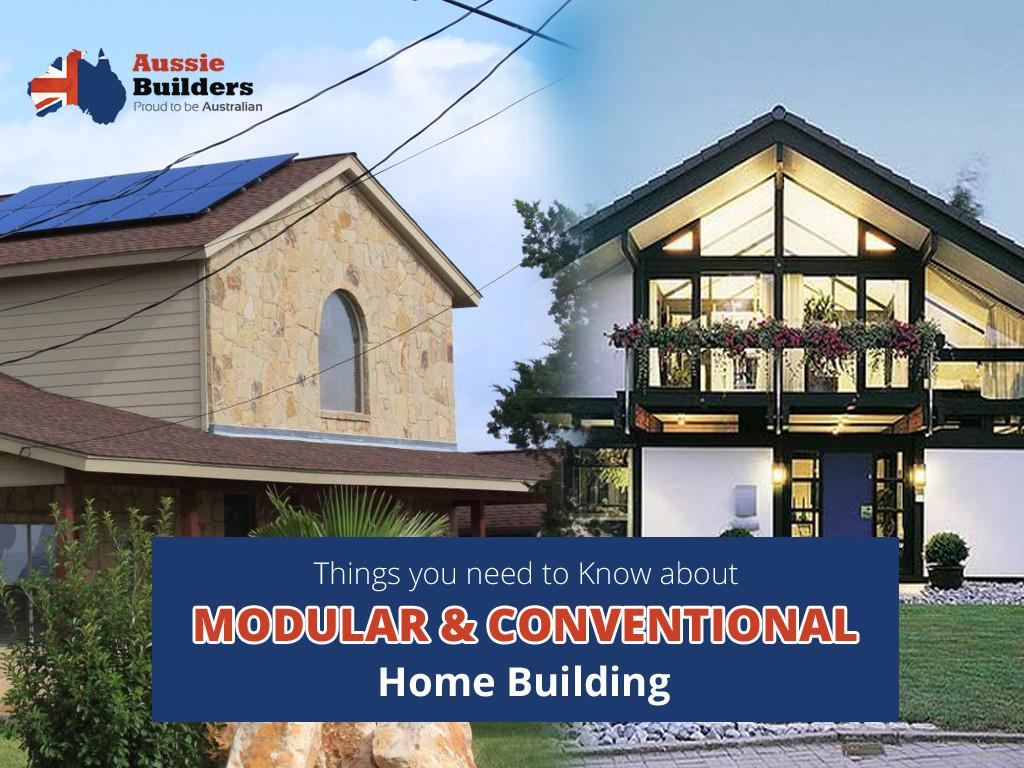 Things Need Know Modular Conventional