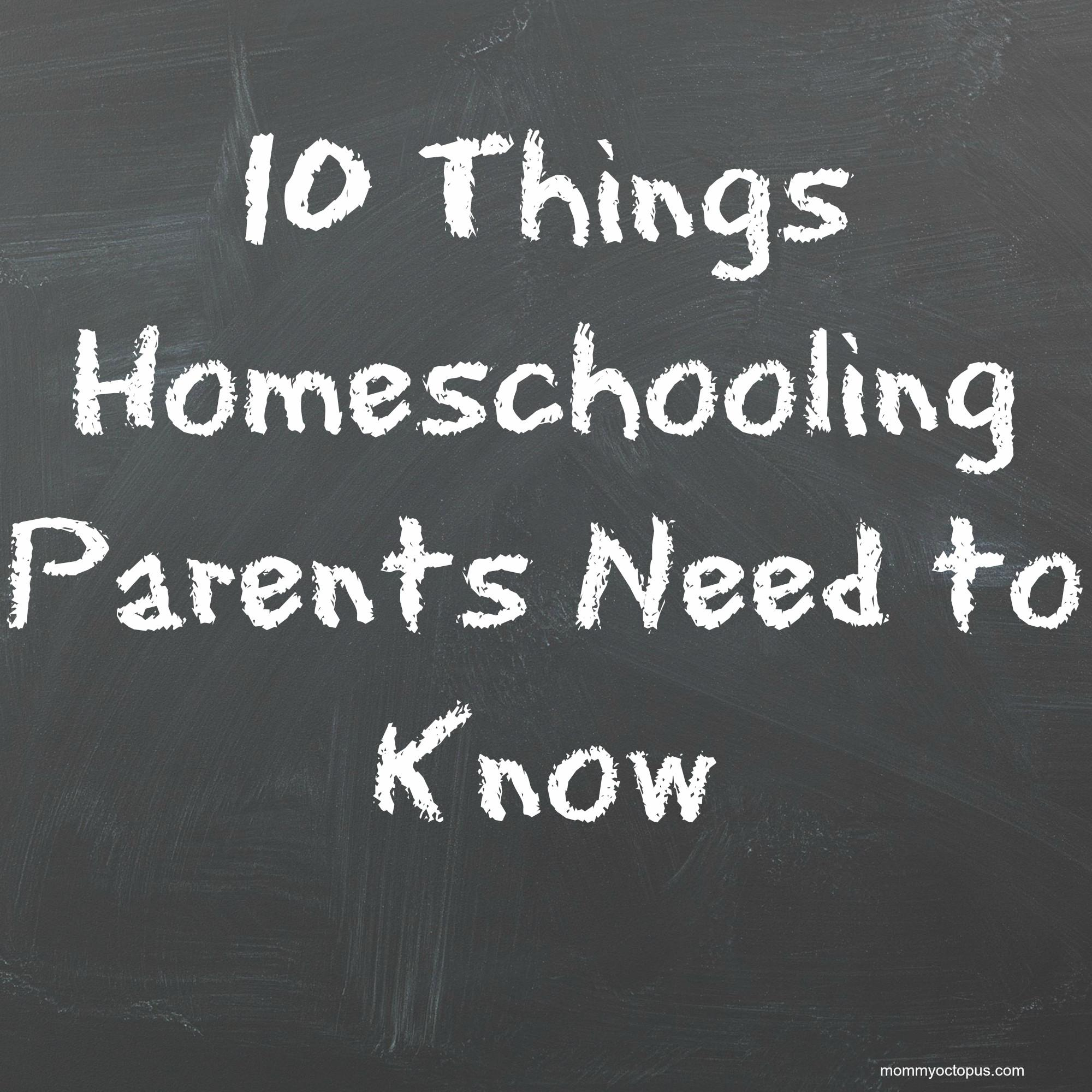 Things New Homeschooling Parents Need Know Mommy