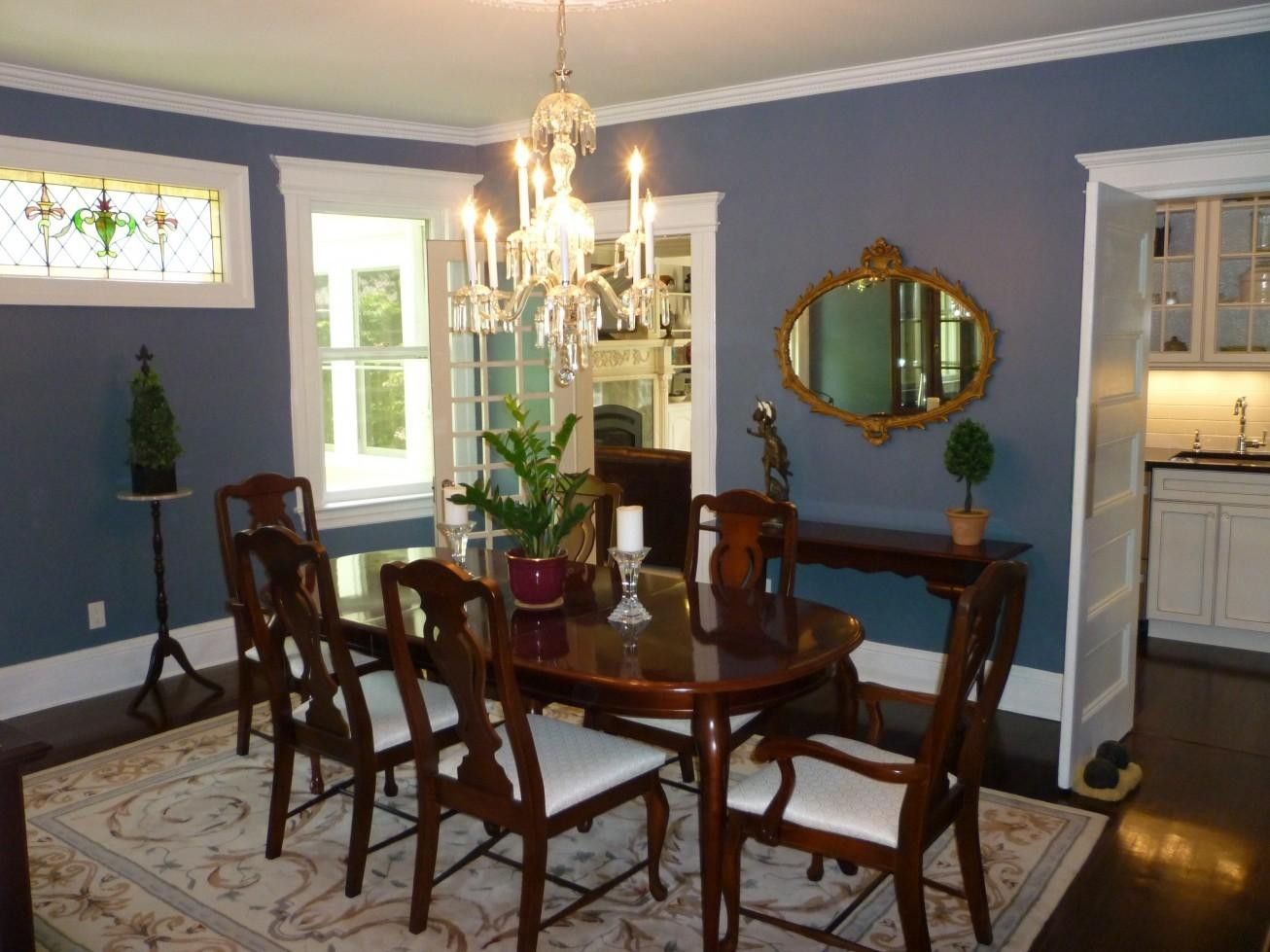Things Probably Didn Know Blue Dining Room Ideas
