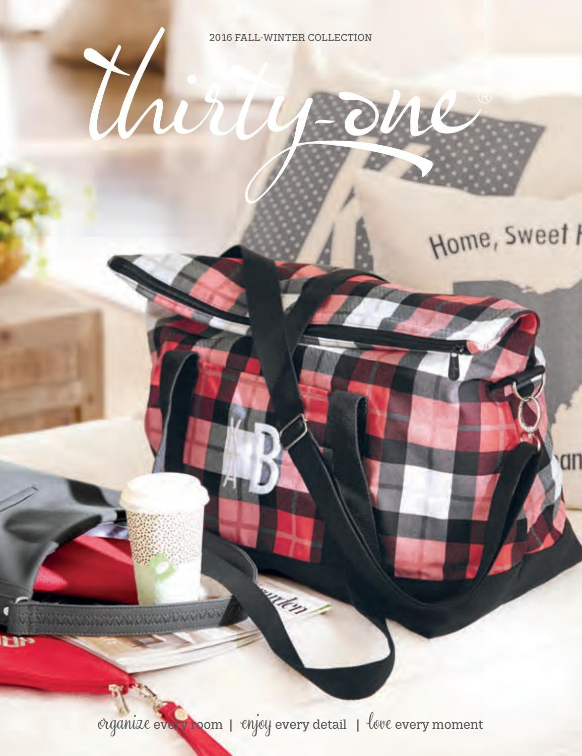 Thirty One 2016 2017 Fall Winter Catalog