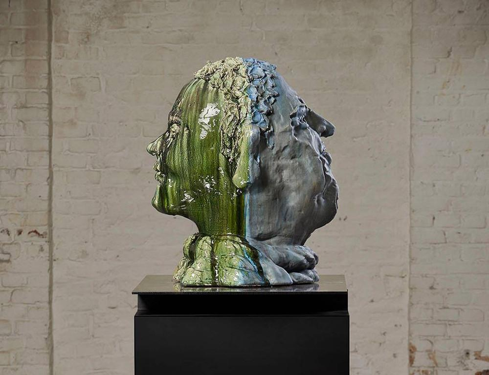 Thomas Sch Tte Gigantic Figurative Heads Abstract