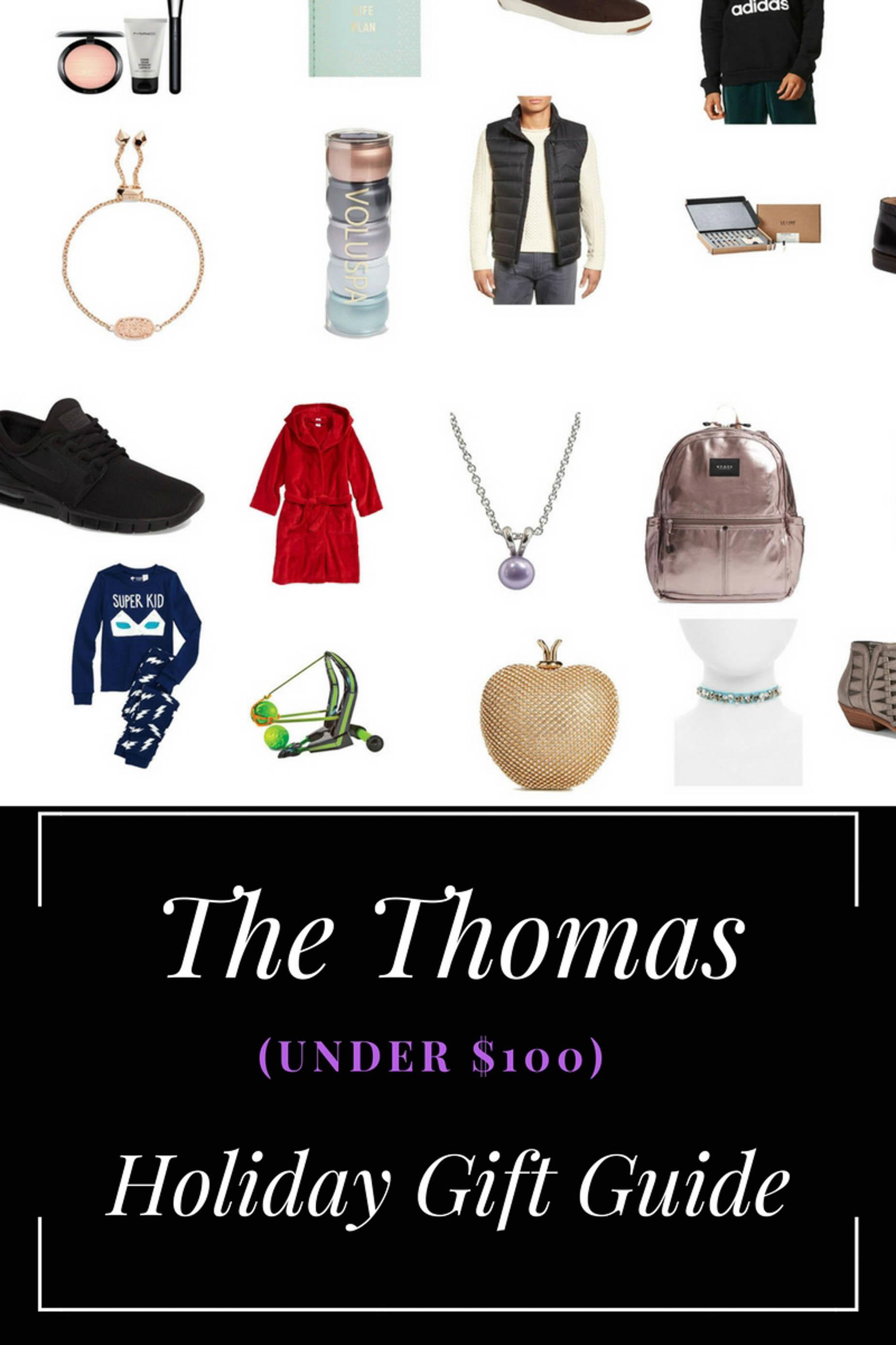 Thomas Under 100 Holiday Gift Guide East
