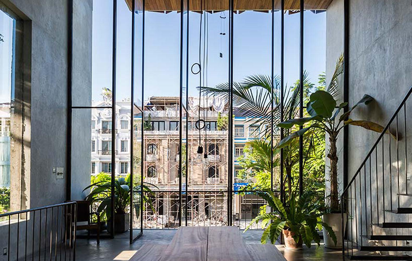 Thong House Vietnam Redefines Traditional Townhouse
