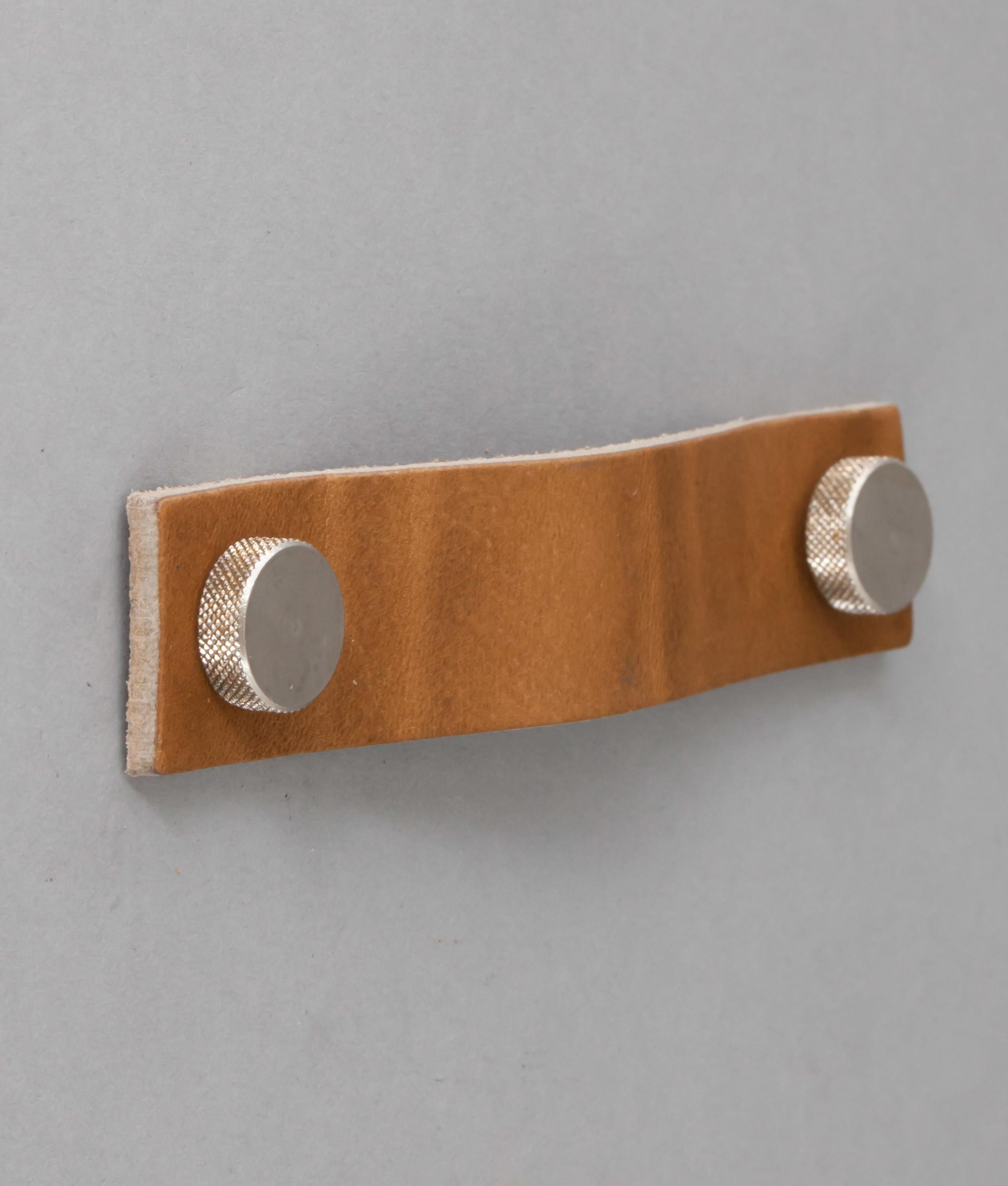 Thor Leather Kitchen Door Handle Available Three Colours