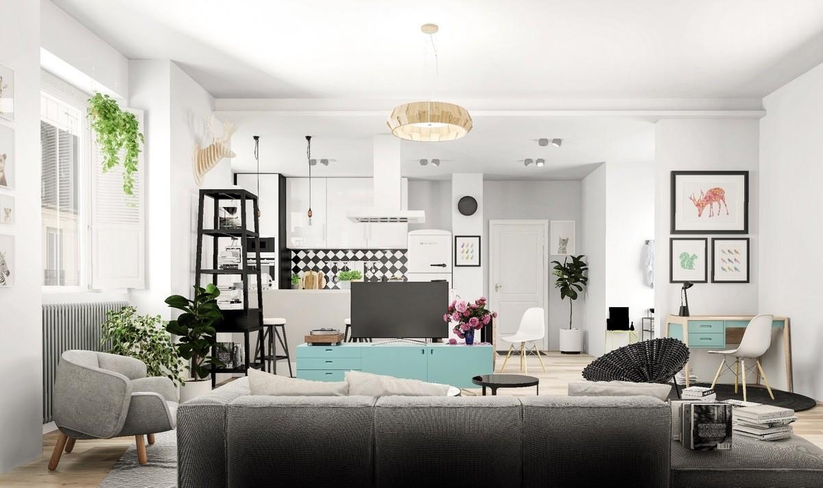 Three Beauty Nordic Home Designs Show