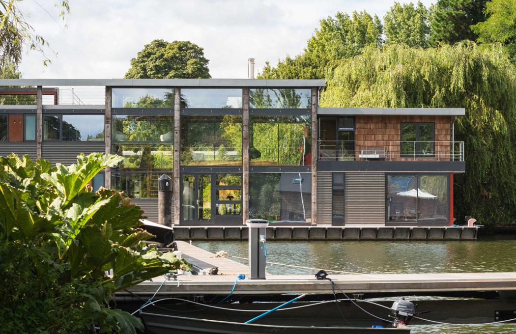 Three Houseboats Redefining Life Aquatic