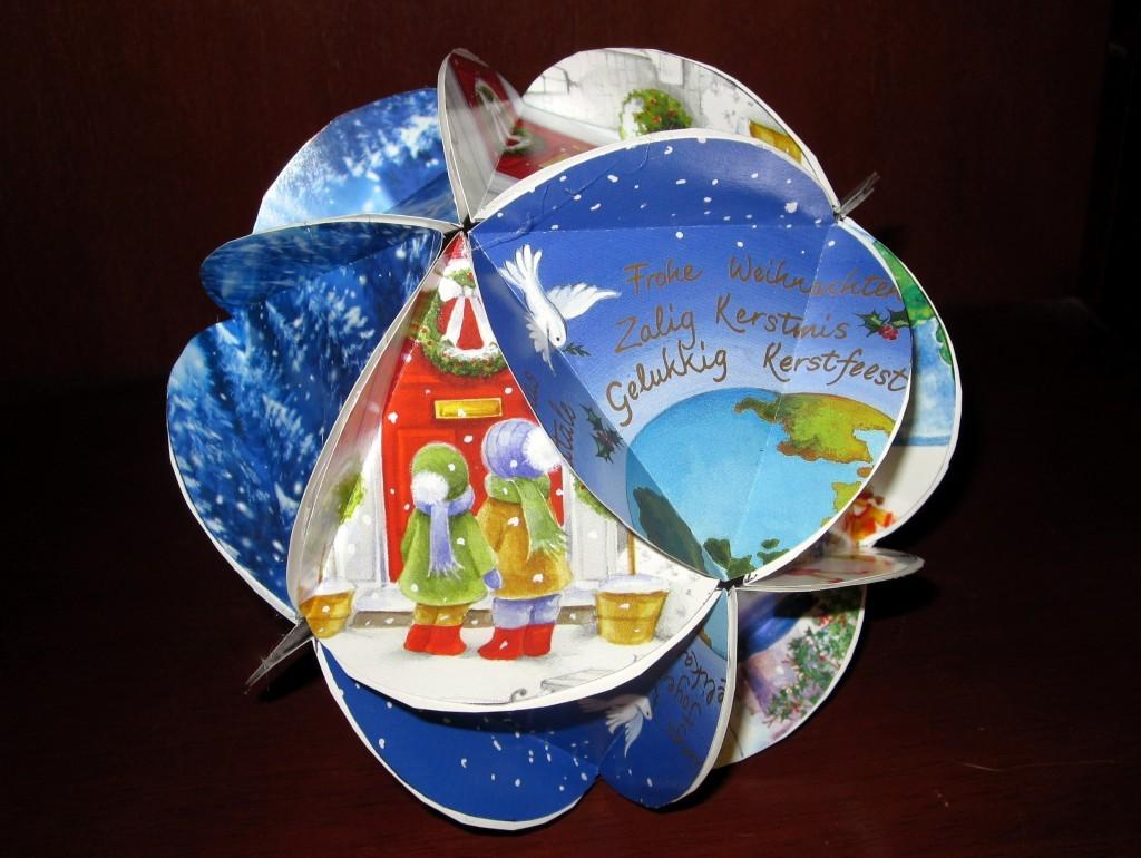 Three Ideas Recycling Christmas Cards Holidappy