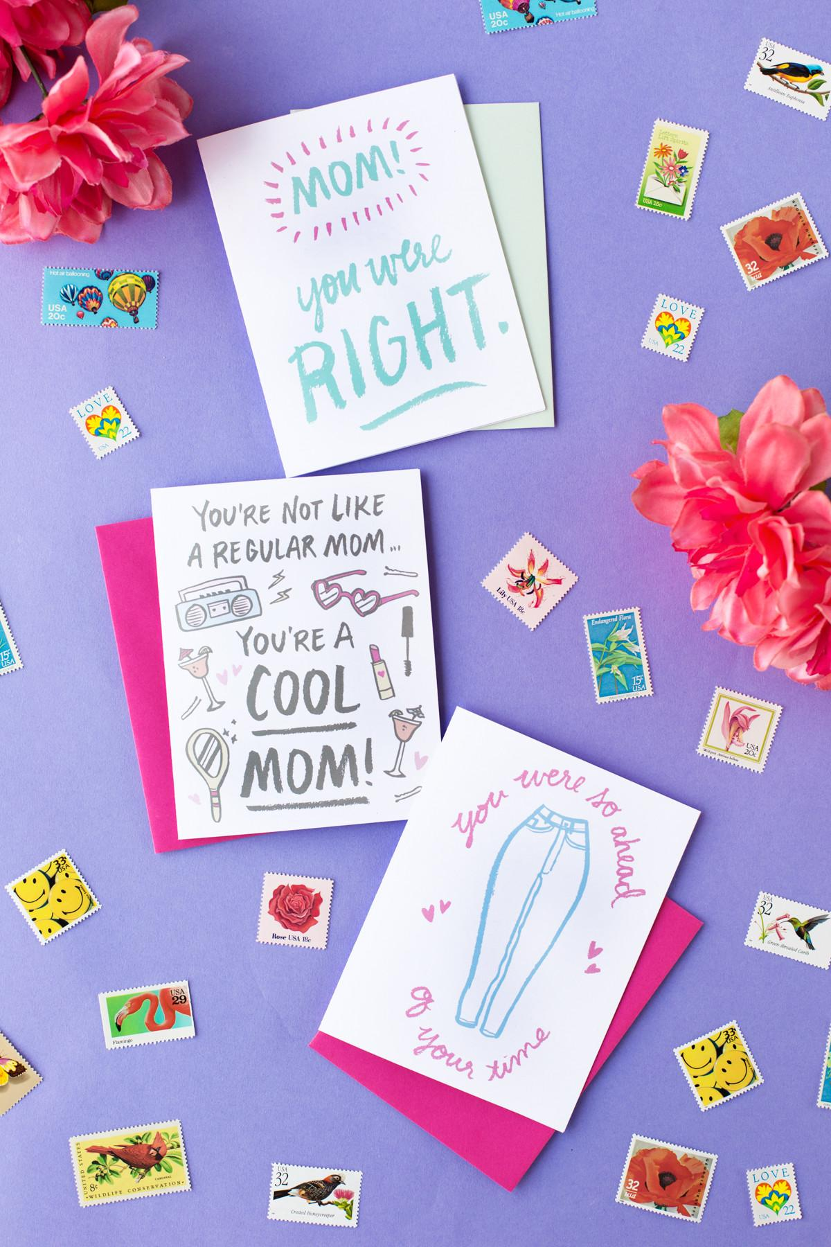 Three Printable Mother Day Cards Studio Diy