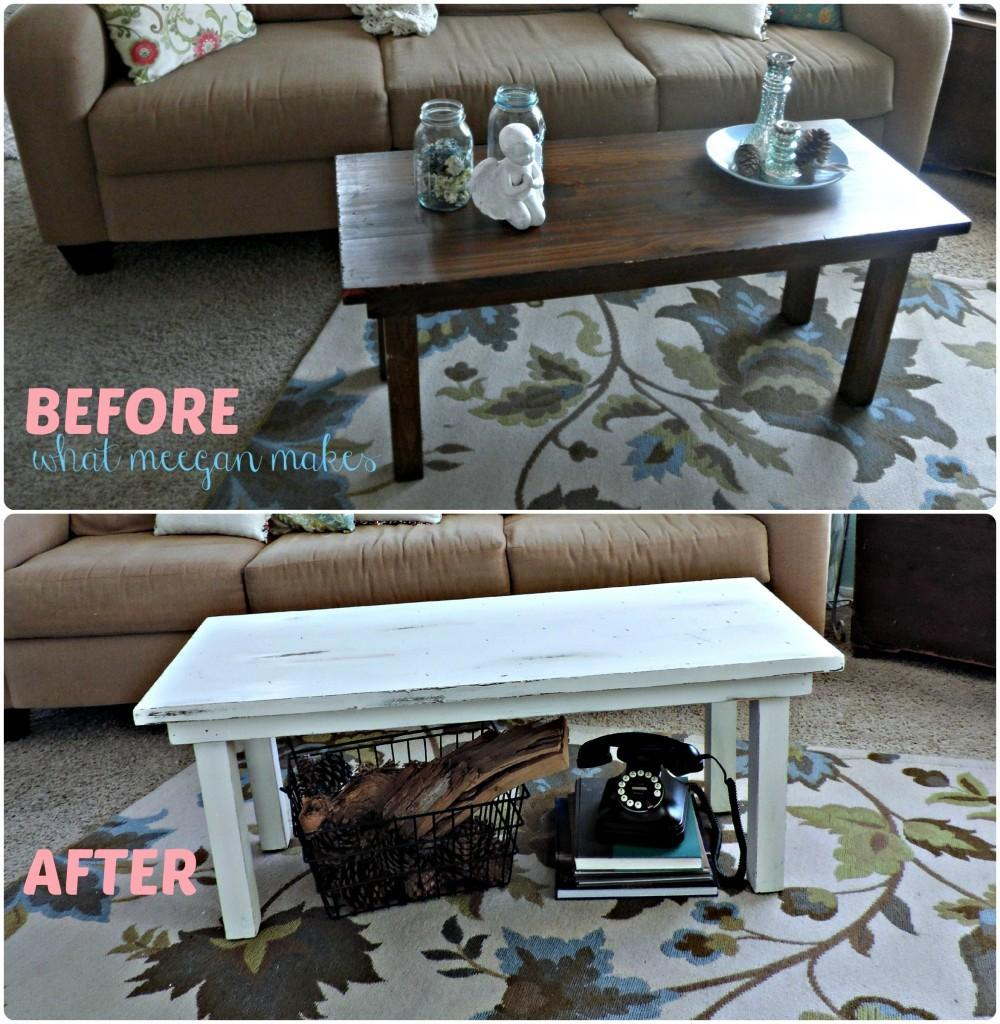 Thrifted Coffee Table Makeover Meegan Makes