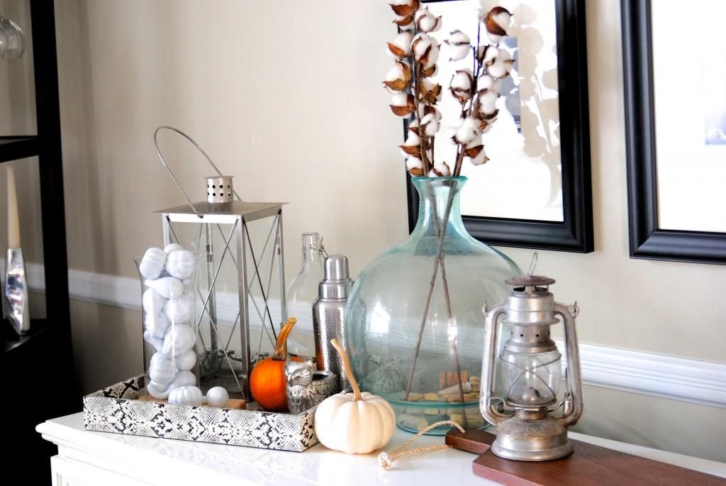Thrifty Fall Decor Ideas More Dollar Store