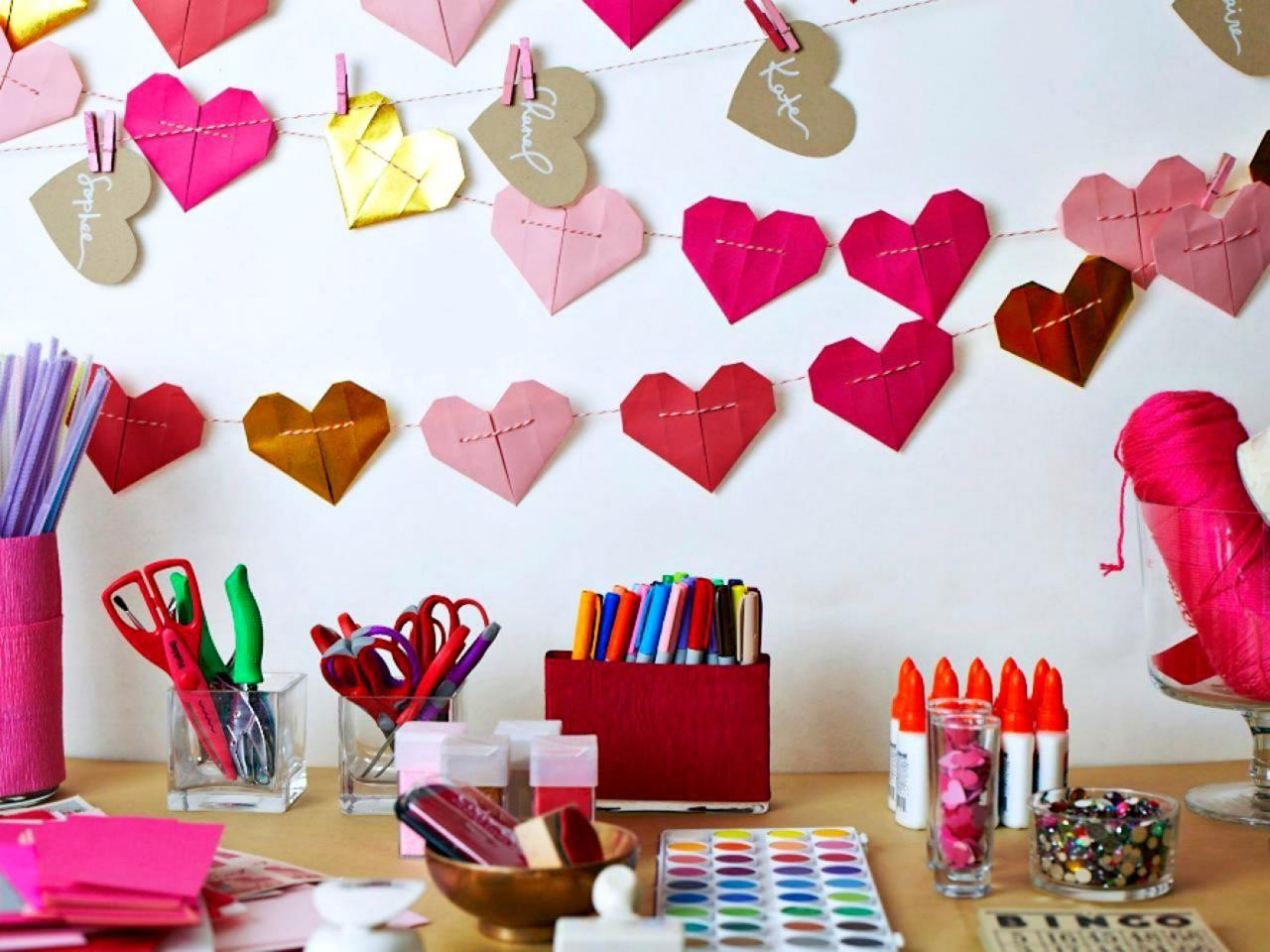 Throw Galentine Day Party Decorating