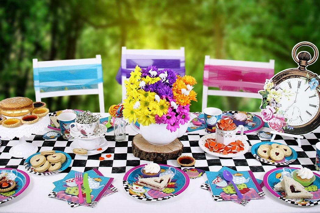 Throw Mad Hatter Tea Party Delights Blog