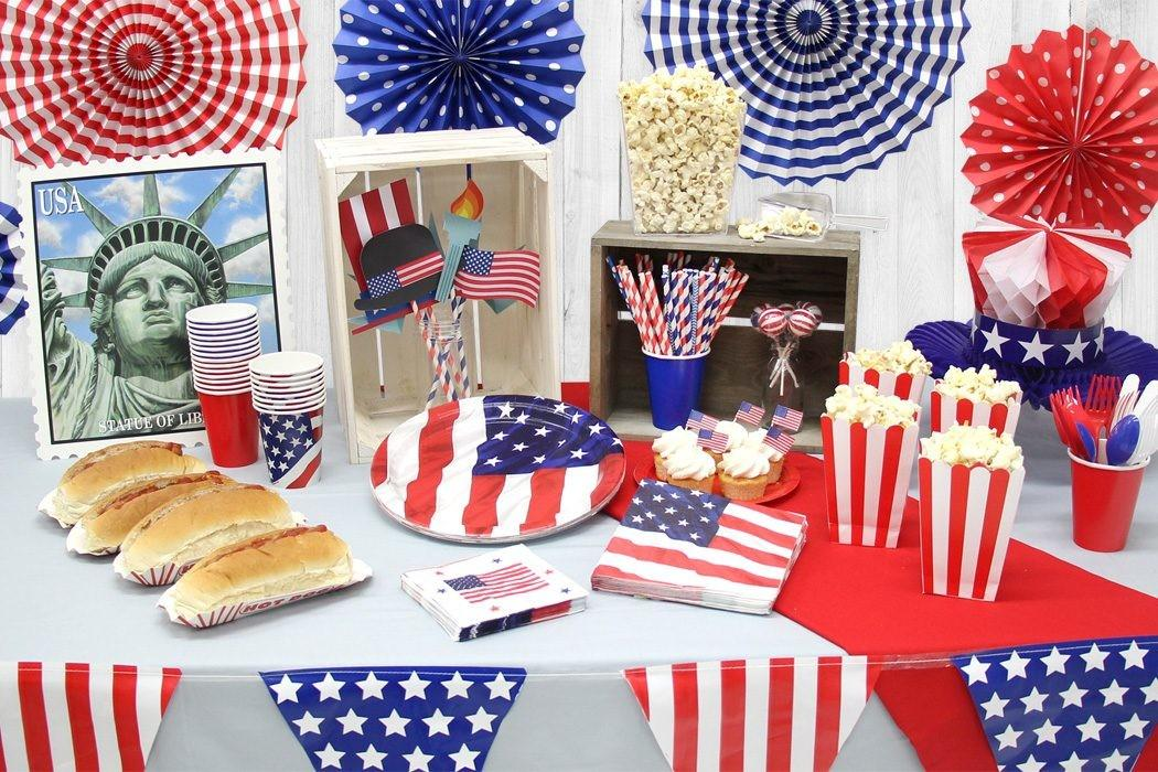 Throw Star Spangled 4th July Party