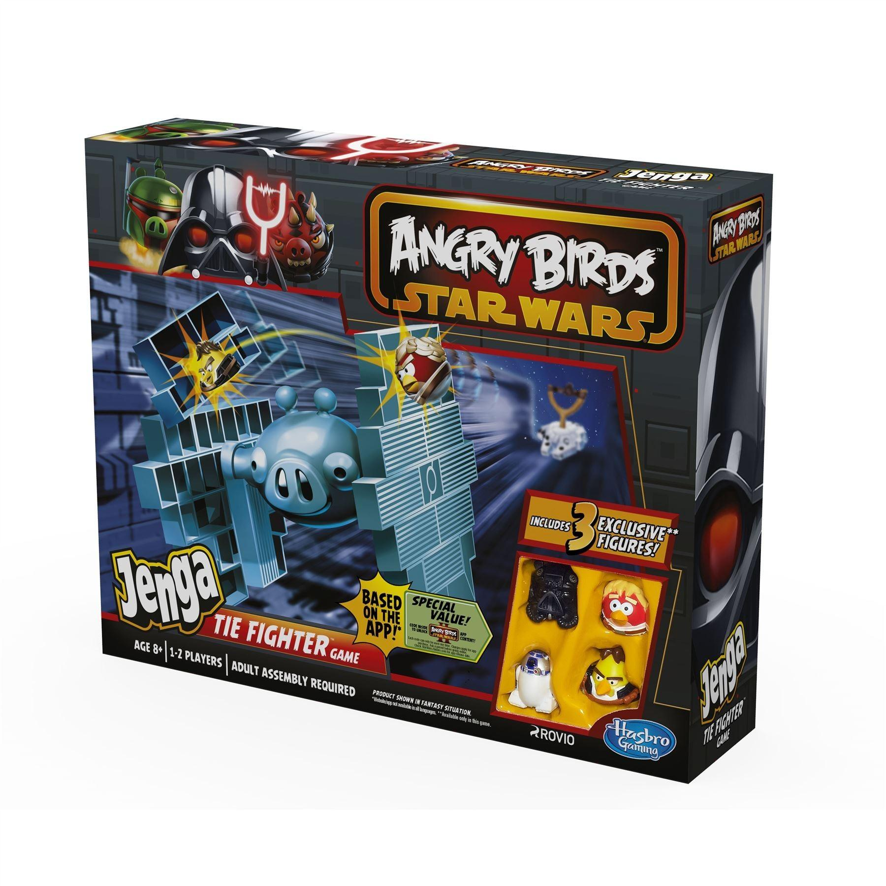 Tie Fighter Jenga Star Wars Angry Birds Party Board