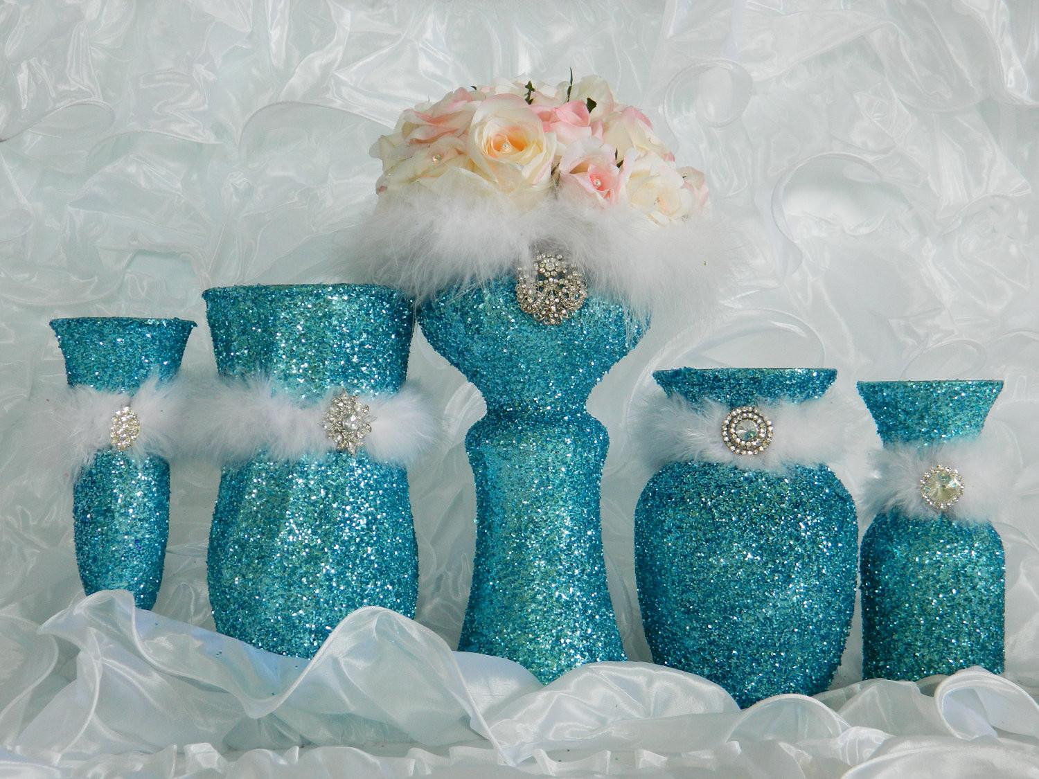 Tiffany Blue Wedding Decorations Reception