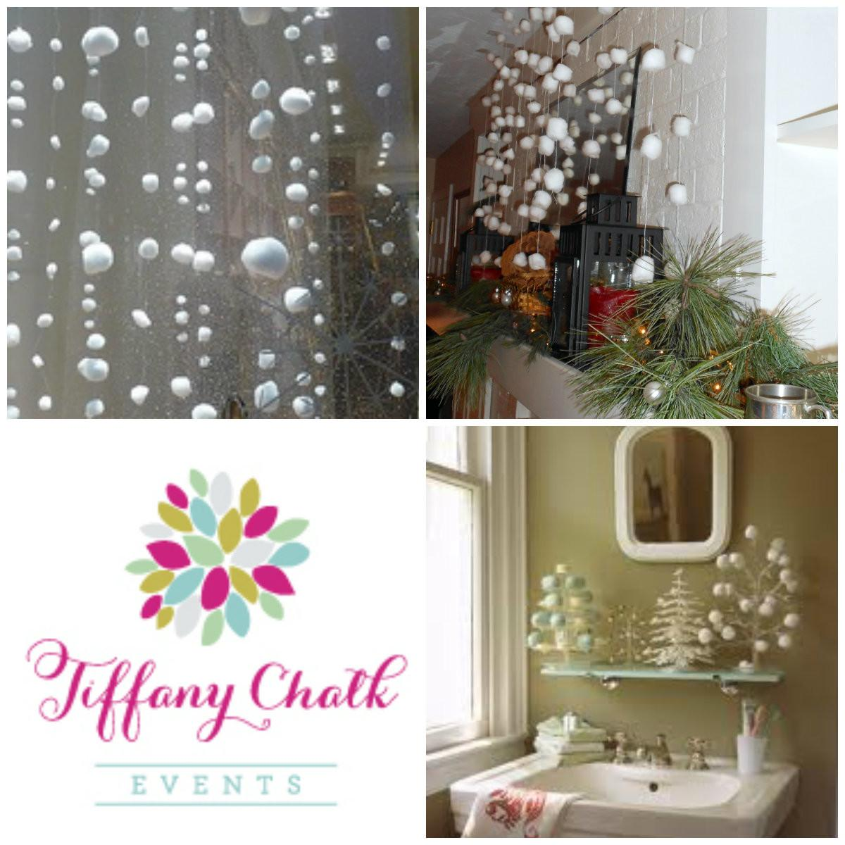 Tiffany Tips Diy Holiday Decorating Cotton Balls