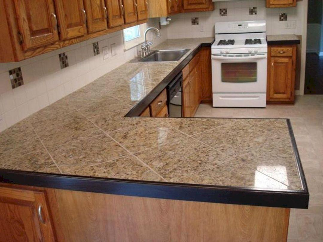 Tile Countertop Ideas Kitchen