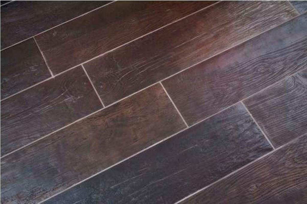Tile Flooring Looks Like Wood Planks John Robinson