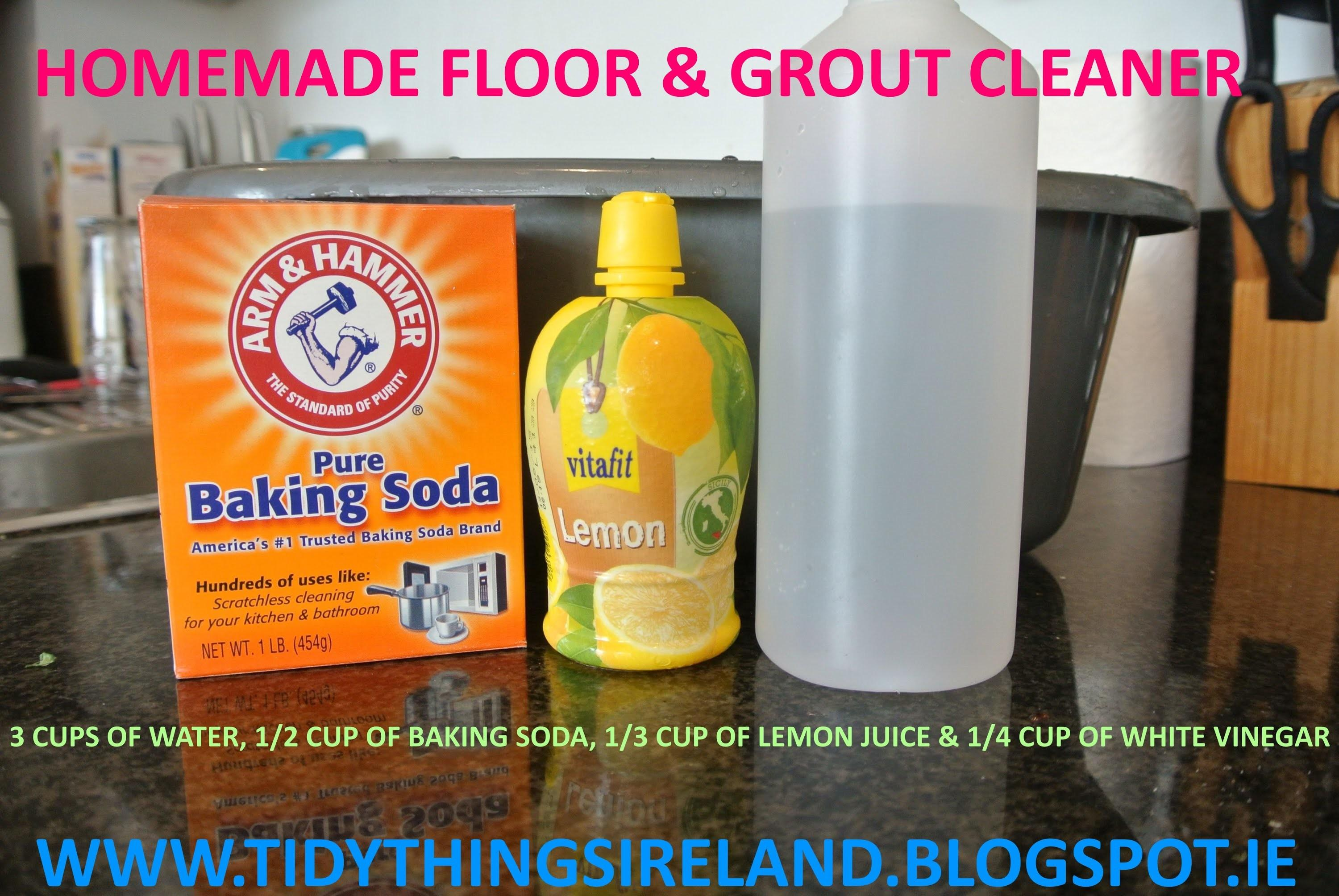 Tile Grout Homemade Cleaner Does Work