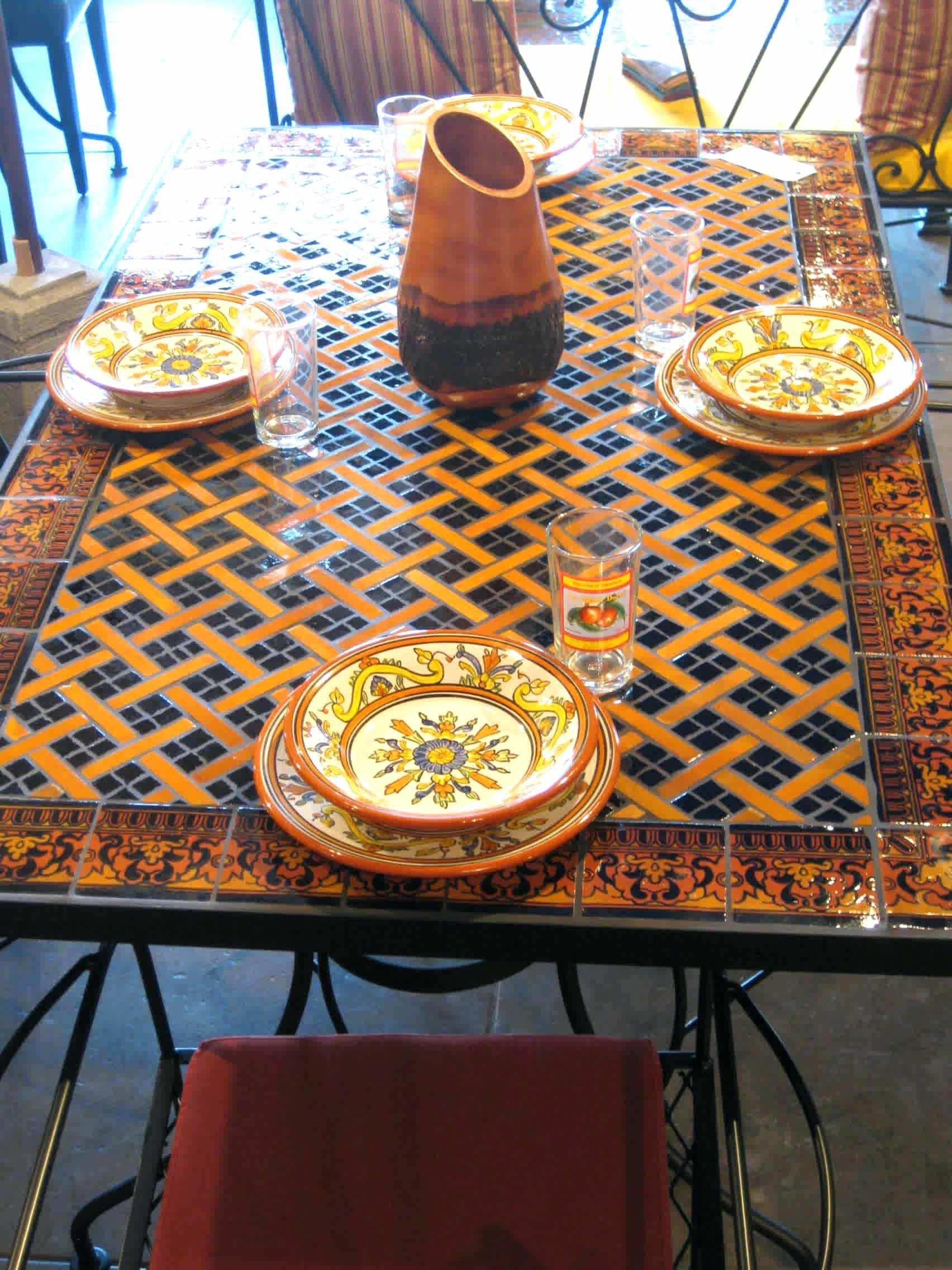 Tiles Mexican Tile Table Tops