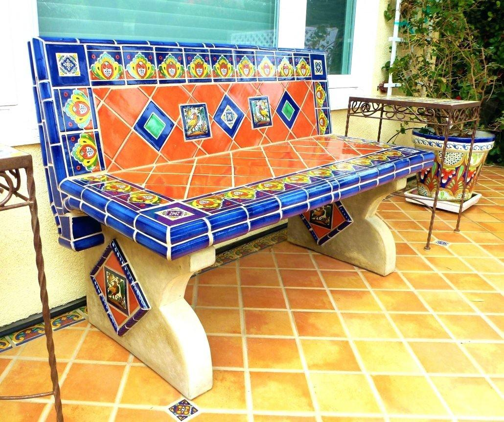 Tiles Mosaic Tables First Piece Found Wood