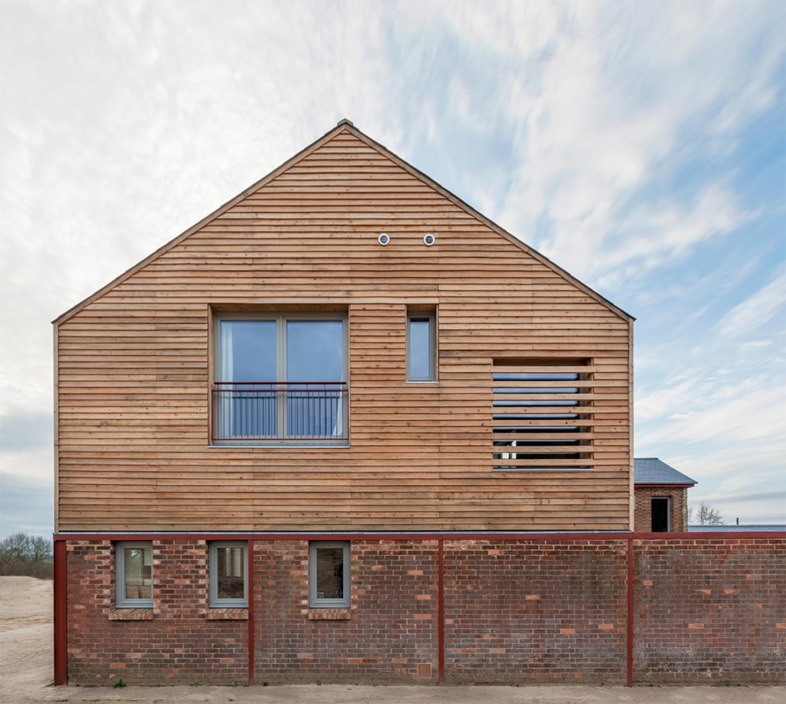 Timber Frame House Zero Architects Archdaily