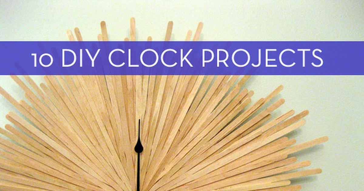 Time Diy Easy Wall Clock Tutorials Curbly
