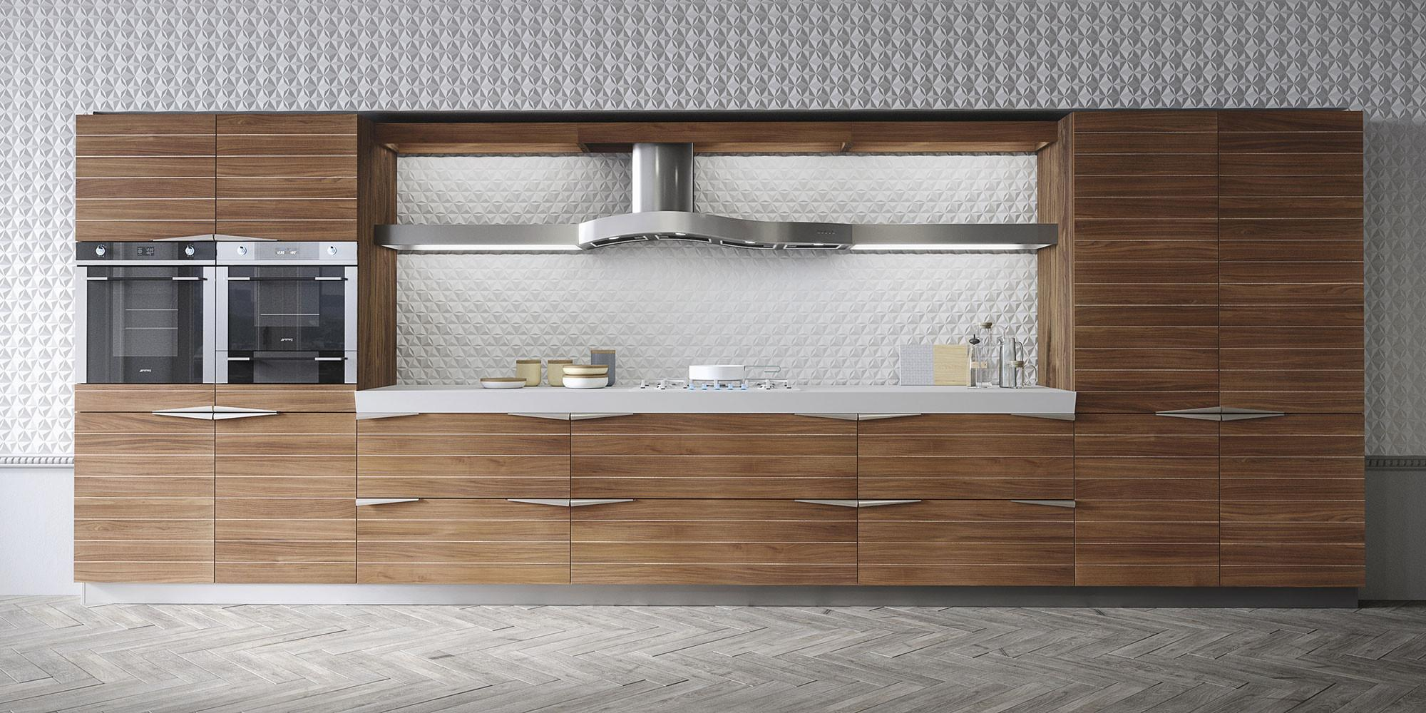 Time Kitchen Snaidero Timeless Teak