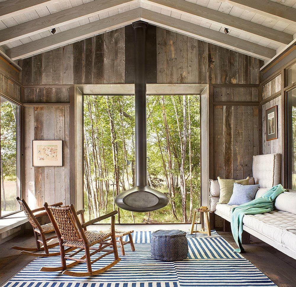 Timeless Allure Cozy Creative Rustic Sunrooms